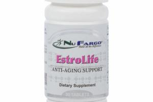 ESTROLIFE ANTI-AGING SUPPORT DIETARY SUPPLEMENT TABLETS
