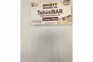 COCOA NIBS SUPER SEED SESAME TAHINI BAR