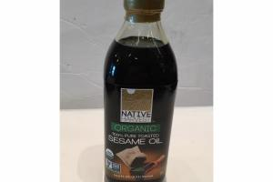 100% PURE TOASTED SESAME OIL