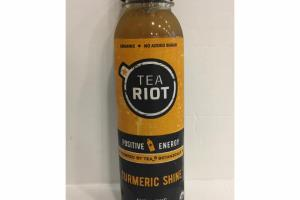 TURMERIC SHINE ORGANIC ENERGIZING TEA & JUICE BLEND