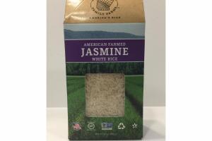 AMERICAN-FARMED JASMINE WHITE RICE