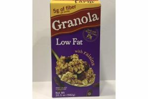 GRANOLA LOW FAT WITH RAISINS