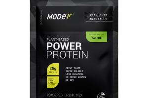 PLANT-BASED POWER PROTEIN POWDERED DRINK MIX, MATCHA