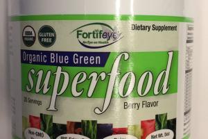 Organic Blue Green Superfood Dietary Supplement