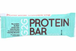 PEANUT BUTTER CHOCOLATE CHIP PROTEIN BAR