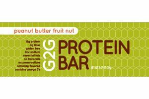 PEANUT BUTTER FRUIT NUT PROTEIN BAR