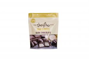 REAL BANANAS FREEZE-DRIED FRESH & IMMERSED IN DARK CHOCOLATE