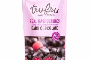 REAL RASPBERRIES DARK CHOCOLATE