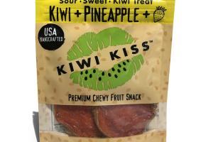 KIWI + PINEAPPLE + STRAWBERRY PREMIUM CHEWY FRUIT SNACK