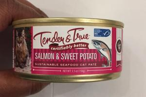 Sustainable Seafood Cat Pate