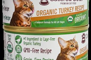 ORGANIC TURKEY RECIPE PATE PREMIUM CAT FOOD