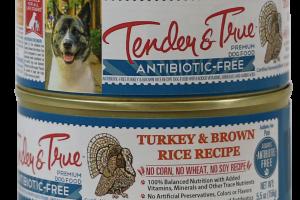 ANTIBIOTIC-FREE TURKEY & BROWN RICE RECIPE PATE PREMIUM DOG FOOD