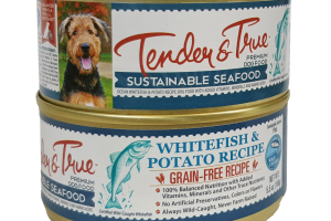 SUSTAINABLE SEAFOOD WHITEFISH & POTATO RECIPE DOG FOOD