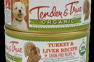 ORGANIC GRAIN-FREE TURKEY & LIVER RECIPE PATE PREMIUM DOG FOOD