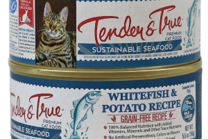 WHITEFISH & POTATO RECIPE SUSTAINABLE SEAFOOD PREMIUM CAT FOOD