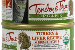 ORGANIC TURKEY & LIVER RECIPE PREMIUM CAT FOOD