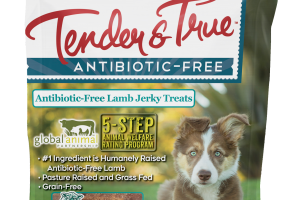 ANTIBIOTIC-FREE LAMB JERKY TREATS