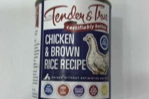 CHICKEN & BROWN RICE RECIPE DOG FOOD