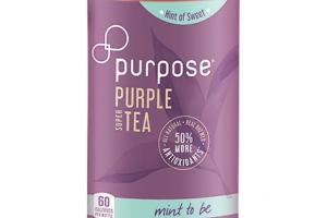 MINT TO BE HINT OF SWEET PURPLE SUPER TEA