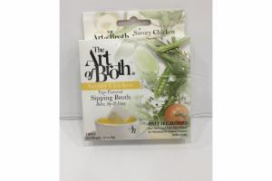 SAVORY CHICKEN TYPE FLAVORED SIPPING BROTH