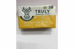 UNSALTED NATURAL CREAMY BUTTER