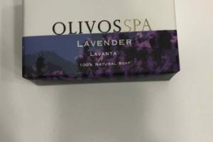 100% NATURAL SOAP, LAVENDER