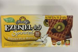 Sprouted Golden Flax Waffles