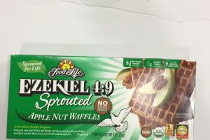 Sprouted Apple Nut Waffles