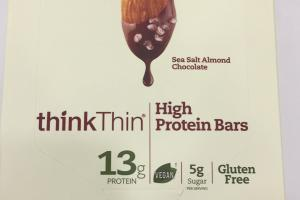 Plant Based High Protein Bars