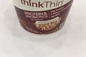 Protein & Probiotics Hot Oatmeal