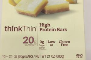 High Protein Bars