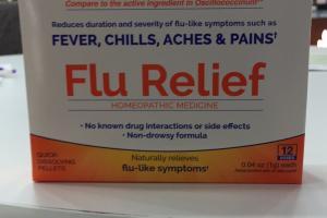 Flu Relief Homeopathic Medicine