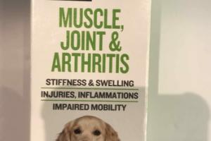 MUSCLE, JOINT & ARTHRITIS ALL NATURAL DOG HOMEOPATHIC