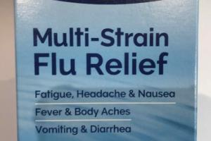 MULTI-STRAIN FLU RELIEF ORAL SPRAY