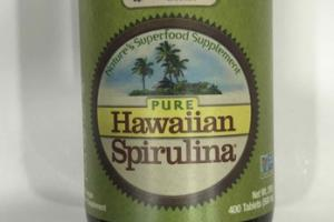 PURE HAWAIIAN SPIRULINA DIETARY SUPPLEMENT TABLET
