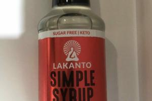 ORIGINAL SIMPLE SYRUP SWEETENED WITH MONKFRUIT