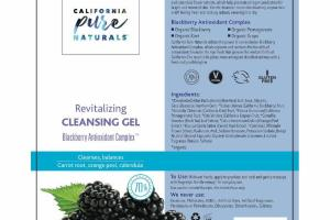 BLACKBERRY ANTIOXIDANT COMPLEX REVITALIZING CLEANSING GEL