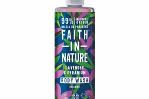 RELAXING BODY WASH, LAVENDER & GERANIUM