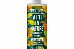 INVIGORATING SHAMPOO FOR NORMAL/OILY HAIR, GRAPEFRUIT & ORANGE