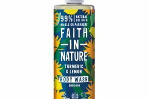ENRICHING BODY WASH, TURMERIC & LEMON