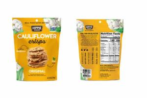 ORIGINAL CAULIFLOWER BASED CRISPS WITH SEEDS AND A TOUCH OF SEA SALT
