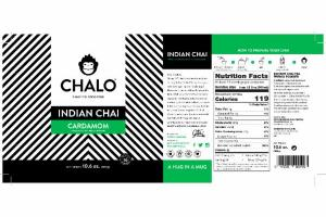 CARDAMOM INDIAN INSTANT CHAI TEA PREMIX POWDER