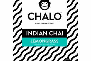 LEMONGRASS INSTANT INDIAN CHAI TEA PREMIX POWDER