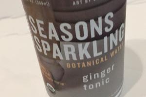 Ginger Tonic Botanical Water