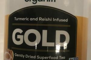 PUMPKIN SPICE TURMERIC AND REISHI INFUSED GENTLY DRIED SUPERFOOD TEA DIETARY SUPPLEMENT