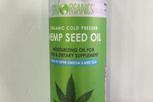 Hemp Seed Moisturizing Oil Dietary Supplement