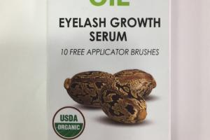 Castor Oil, Eyelash Growth Serum
