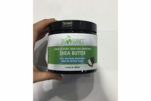 FACE AND BODY MOISTURIZER, SHEA BUTTER
