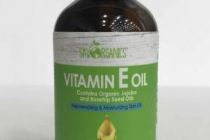 REJUVENATING & MOISTURIZING VITAMIN E SKIN OIL