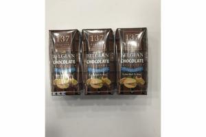 DOUBLE BELGIAN CHOCOLATE WITH PISTACHIO MILK